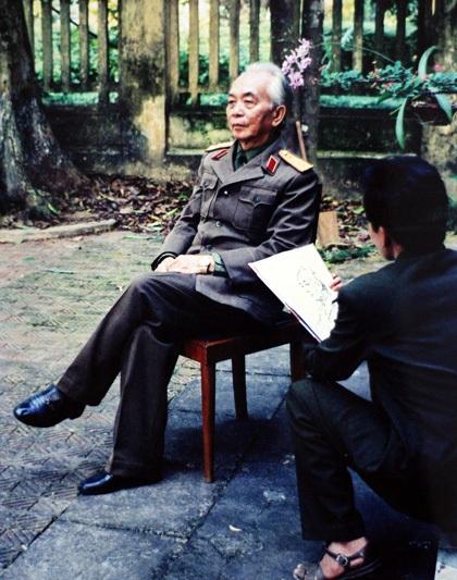 Những bức hình chưa từng công bố về Đại tướng Võ Nguyên Giáp - 15