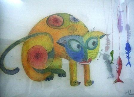 Xem chùm tranh mèo dí dỏm đầu xuân Tân Mão - 13