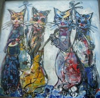Xem chùm tranh mèo dí dỏm đầu xuân Tân Mão - 11