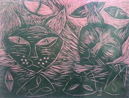 Xem chùm tranh mèo dí dỏm đầu xuân Tân Mão - 9