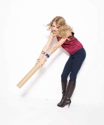 Taylor Swift khoe vẻ trẻ trung, nhí nhảnh - 11