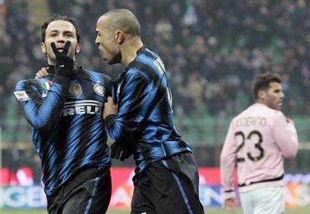 Tân binh Pazzini rực sáng giúp Inter đánh bại Palermo - 1