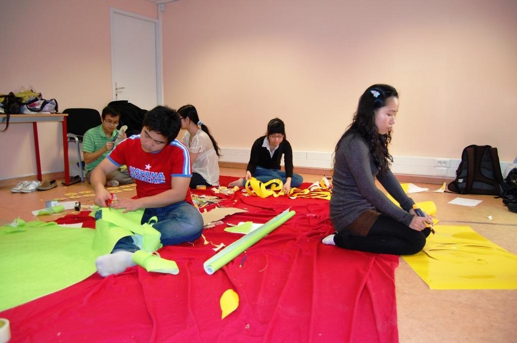 Không khí đón Tết của sinh viên Việt Nam tại Montpellier, Pháp - 1