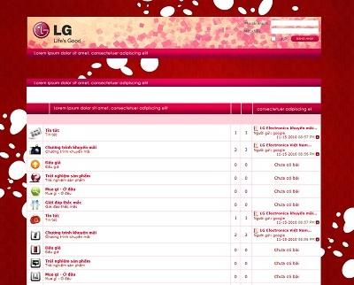 """LG ra mắt diễn đàn trực tuyến """"Vì cuộc sống tốt đẹp hơn"""" - 1"""