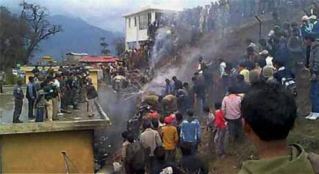 Trực thăng Ấn Độ gặp nạn, 17 người thiệt mạng  - 2