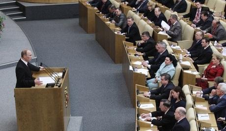 """Thủ tướng Nga """"phác thảo"""" cương lĩnh tranh cử trước Hạ viện - 1"""