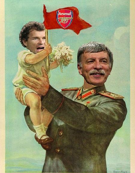 """Biếm họa về Arsenal sau khi """"đổi chủ"""" - 3"""