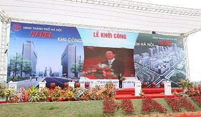 Hà Nội khởi công khu công viên phần mềm đạt chuẩn quốc tế đầu tiên ở Việt Nam - 1