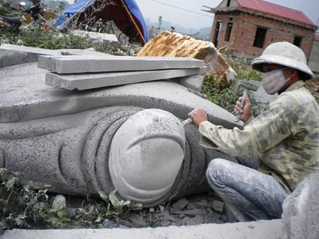 """""""Đệ nhất"""" tượng, nhà đá Ninh Vân - 3"""