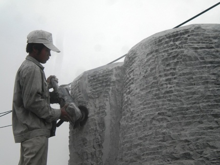 """""""Đệ nhất"""" tượng, nhà đá Ninh Vân - 5"""