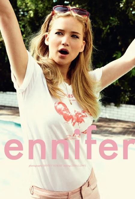 Jennifer Lawrence xinh tươi, quyến rũ - 1