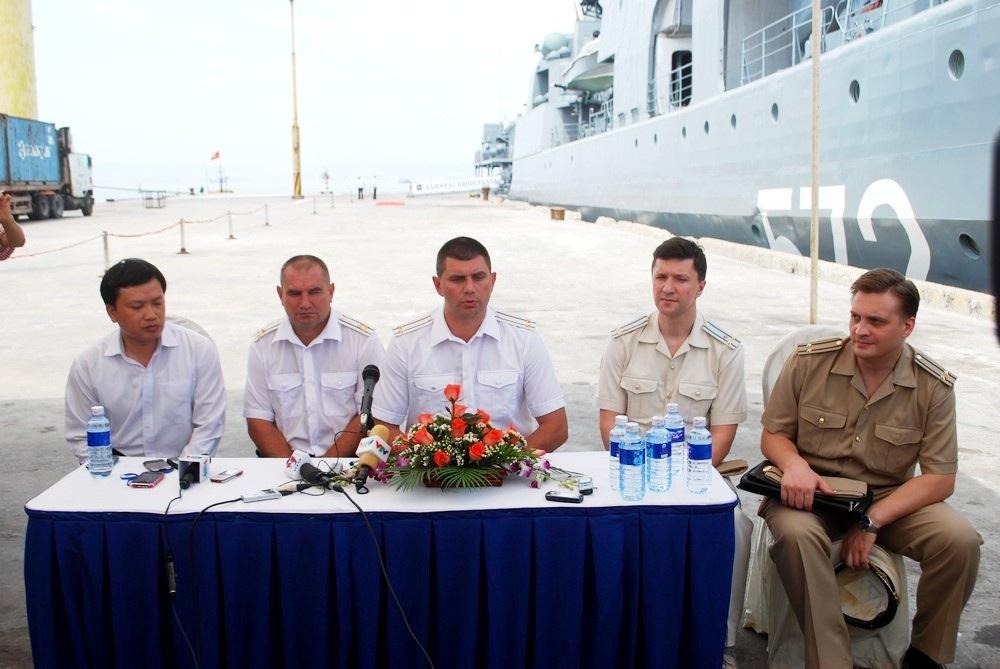 Tàu chiến hạm đội Thái Bình Dương hải quân Nga thăm Đà Nẵng - 4