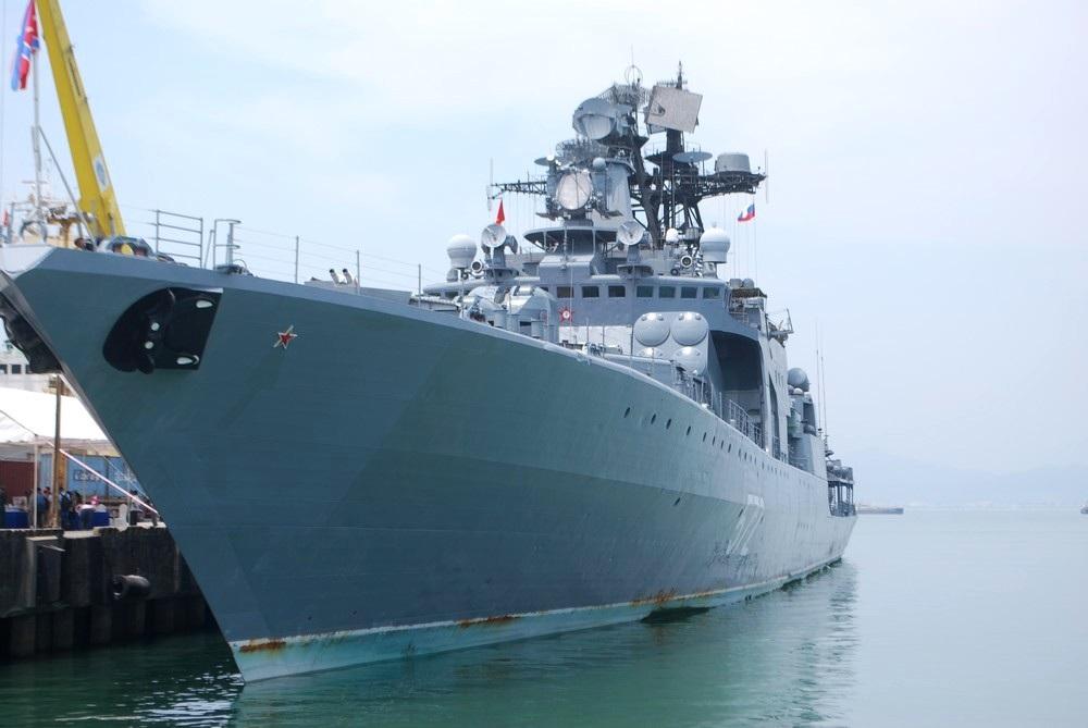 Tàu chiến hạm đội Thái Bình Dương hải quân Nga thăm Đà Nẵng - 1