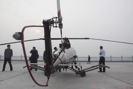 Trung Quốc thử thành công trực thăng không người lái - 4