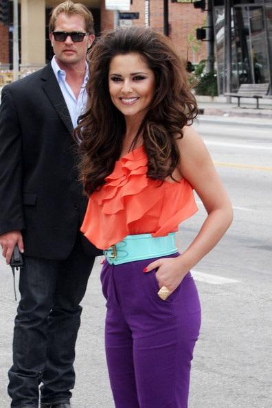 """Cheryl Cole - Paula Abdul """"đụng hàng"""" - 9"""