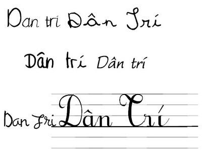 """Bộ sưu tập font chữ độc đáo phong cách """"viết tay"""" (Phần 2) - 3"""