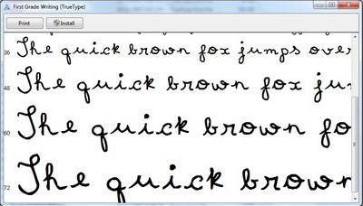 """Bộ sưu tập font chữ độc đáo phong cách """"viết tay"""" (Phần 2) - 1"""