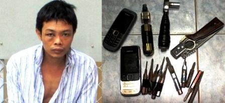 Cảnh sát hình sự nổ súng trấn áp hai tên trộm nguy hiểm - 1