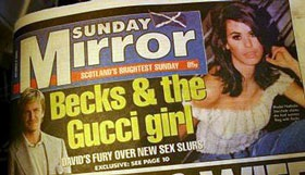 David Beckham lại lừa dối Vic? - 1