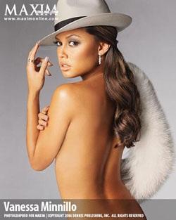 Vanessa Minnillo - Làn da nâu nóng bỏng trên bìa Maxim - 5