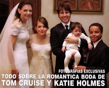Ông bà Cruise công bố album ảnh cưới - 1