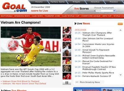 Báo chí quốc tế đồng loạt đưa tin Việt Nam vô địch - 4