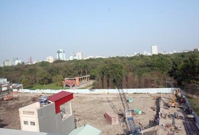 Không thay đổi dự án khách sạn nhìn xuống công viên - 2