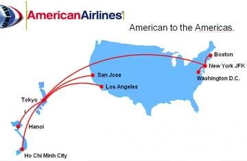 Khuyến mãi đặc biệt từ American Airlines - 1