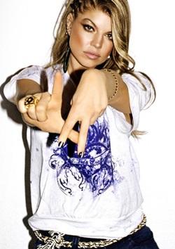 Fergie làm người mẫu thời trang - 2