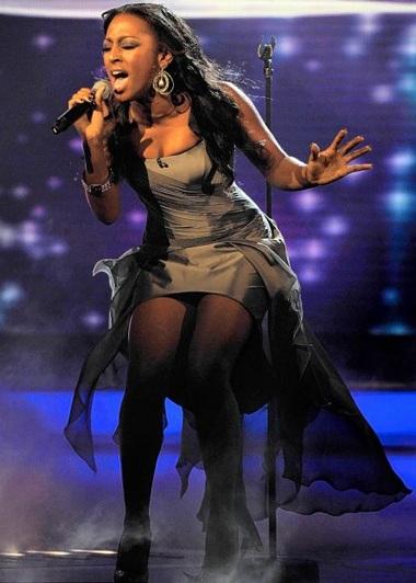 Alexandra Burke - quán quân cuộc thi X Factor 2008 - 2