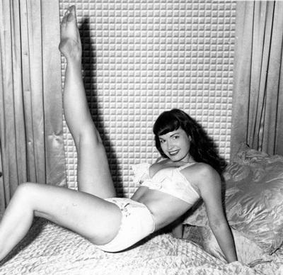 Người mẫu gợi cảm Bettie Page qua đời - 4
