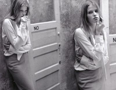 Vogue Pháp ưu ái chân dài Lara Stone - 15