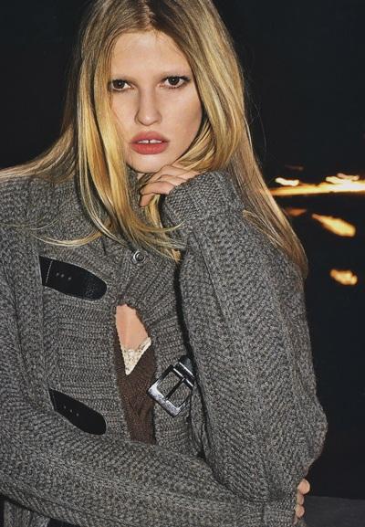 Vogue Pháp ưu ái chân dài Lara Stone - 5