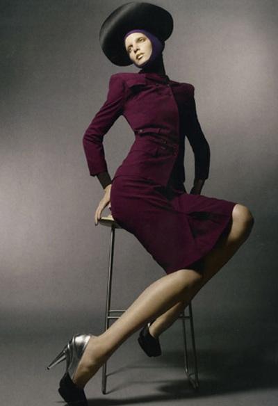 Iris Strubegger - chân dung một siêu mẫu cá tính - 3