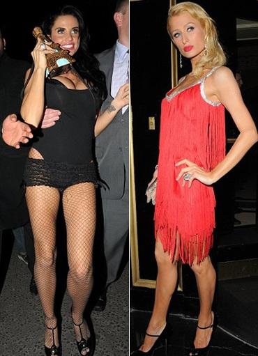 """Paris Hilton tiệc tùng với siêu mẫu """"ngực bự"""" - 2"""