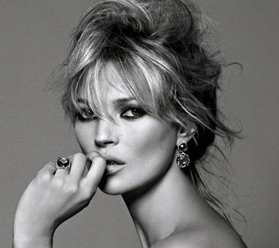 Kate Moss: Già và xấu khi không trang điểm - 8