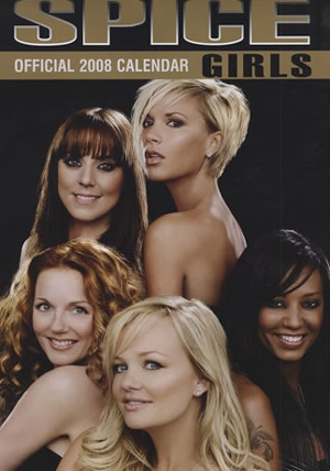 Chiêm ngưỡng bộ lịch 2008 của Spice Girls  - 1