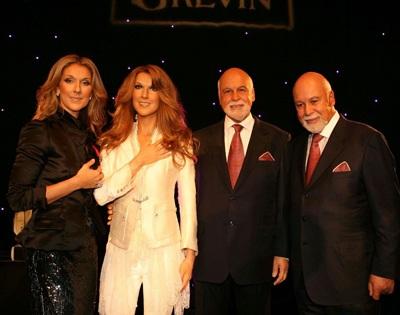 Vợ chồng Celine Dion được tạc tượng - 2