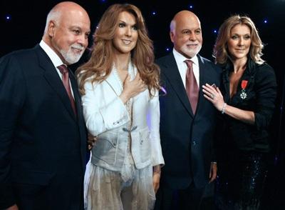 Vợ chồng Celine Dion được tạc tượng - 1