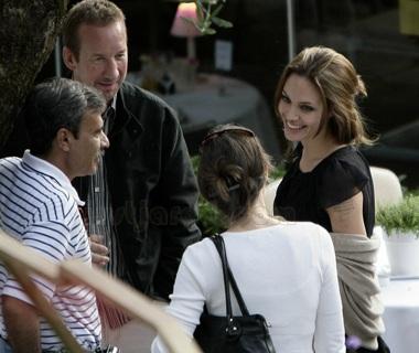 """Hình ảnh đại gia đình """"ông bà Smith"""" tại LHP Cannes - 5"""
