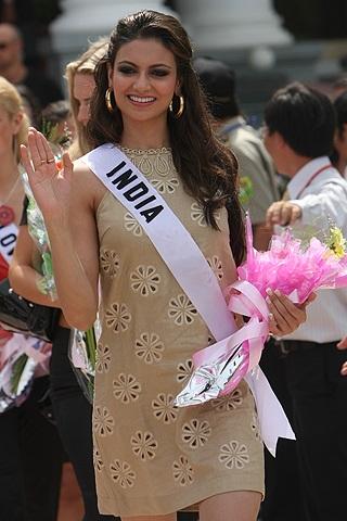 10 gương mặt sáng giá của cuộc thi Hoa hậu Hoàn vũ 2008 - 7