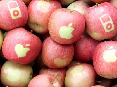 Chùm ảnh: Sáng tạo... cùng logo quả táo của Apple - 7