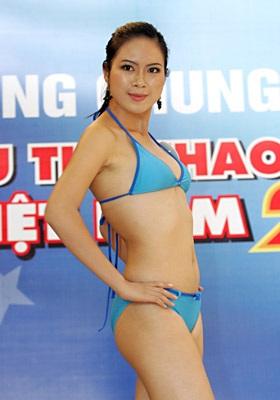 Ngắm người đẹp thể thao trong trang phục bikini - 9