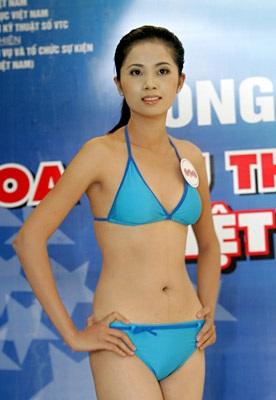 Ngắm người đẹp thể thao trong trang phục bikini - 2
