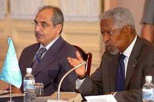Chủ tịch Trần Đức Lương tiếp Tổng thư ký Liên hợp quốc Kofi Annan - 5
