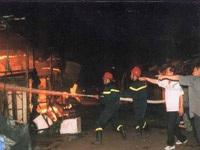 Chùm ảnh vụ cháy chợ Hà Đông - 2