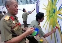 Tô màu bức tranh dài nhất Việt Nam - 1