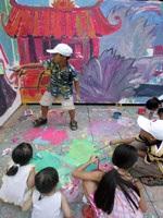 Tô màu bức tranh dài nhất Việt Nam - 9