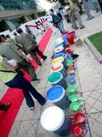 Tô màu bức tranh dài nhất Việt Nam - 8