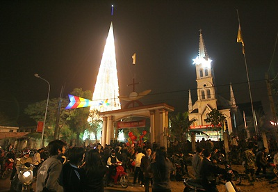 Đón Giáng sinh ở nhà thờ Cầu Rầm - 4
